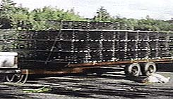 Many traps headed for a Maritime Wharf with custom built Marine Ballast Skids